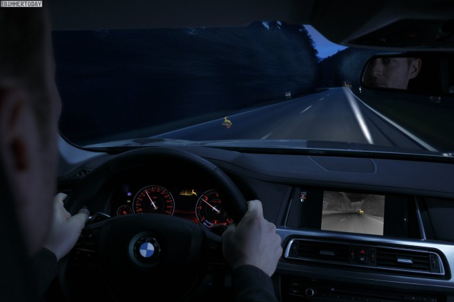 BMW-Night-Vision-Tier-Erkennung-Light-Spot-aktiv-anblinken-2013