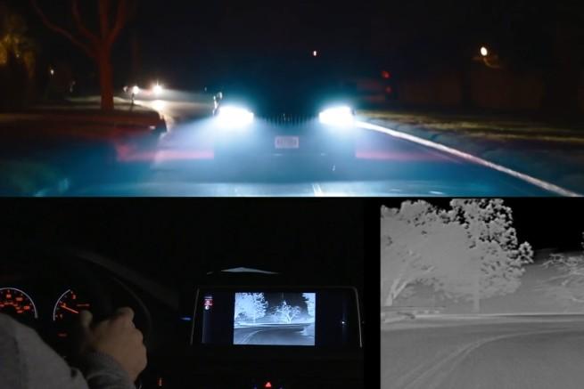 BMW-Night-Vision-X5-F15-Test-Nachtsicht-System-Video