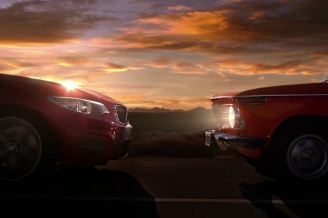 BMW-Werbung-Sotchi-2014-2er-2002-ti-Fackel-Uebergabe
