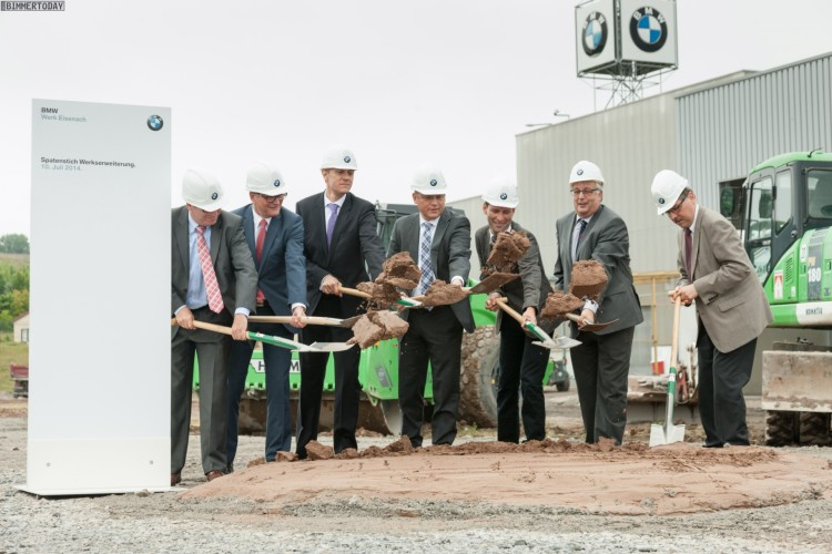 BMW-Werk-Eisenach-Ausbau-2014-Erweiterung-Spatenstich