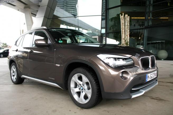 mehr platz beim car sharing drivenow bietet 2012 auch bmw x1. Black Bedroom Furniture Sets. Home Design Ideas
