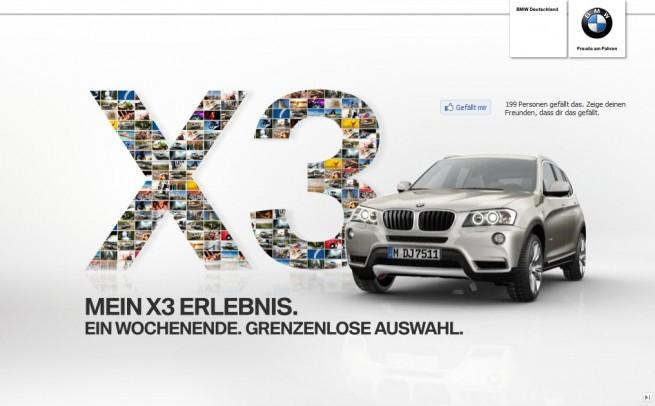 BMW-X3-Erlebnis-Gewinnspiel
