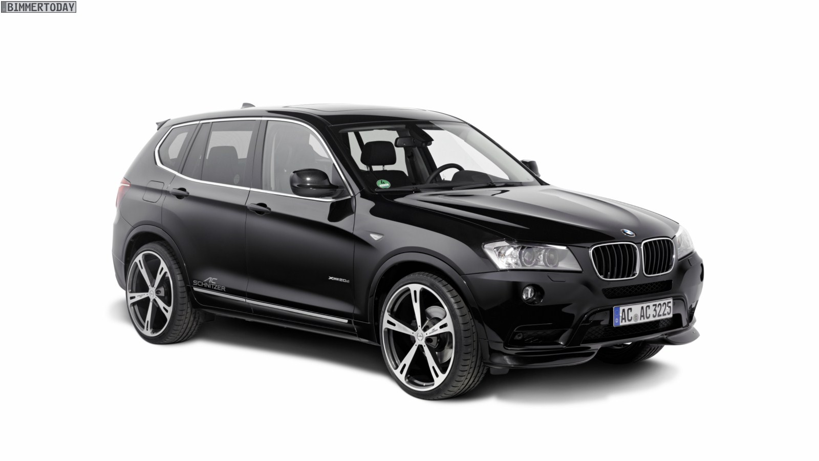 ac schnitzer trimmt den neuen bmw x3 f25 auf sport. Black Bedroom Furniture Sets. Home Design Ideas