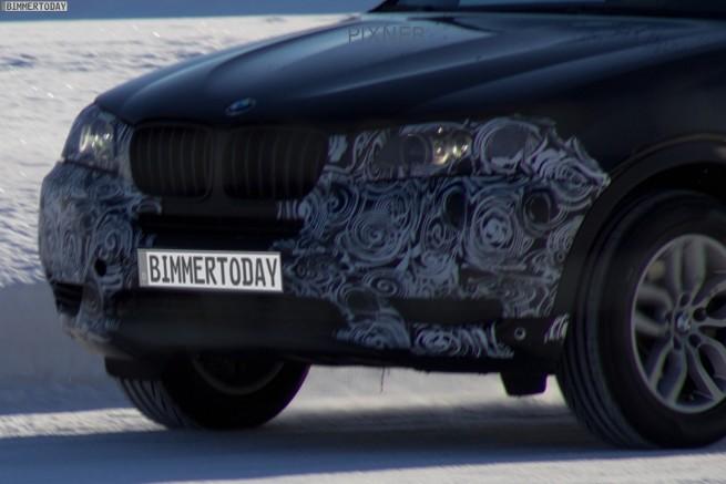BMW-X3-F25-LCI-2013-Facelift-Erlkoenig-4