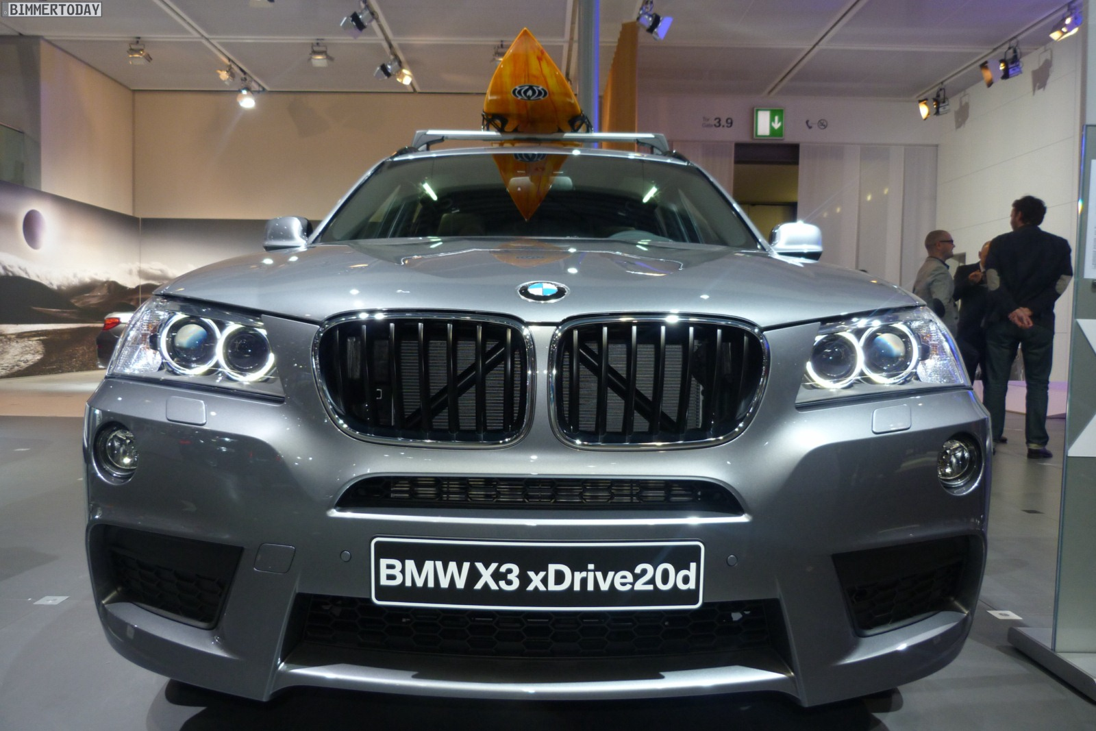 ami 2012 bmw x3 xdrive20d f25 mit m sportpaket in spacegrau. Black Bedroom Furniture Sets. Home Design Ideas
