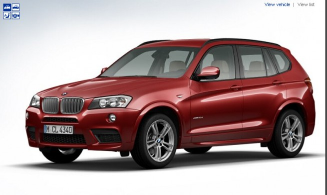 BMW-X3-F25-M-Sportpaket-Konfigurator