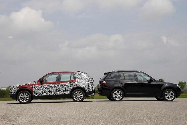 BMW-X3-F25-Vergleich-X3-E83