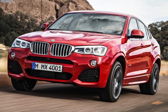 BMW-X4-M-Sportpaket-Melbourne-Rot