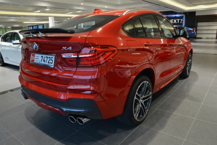 BMW-X4-Tuning-Carbon-Heckspoiler-vier-Endrohre-Kelleners-ESD-10