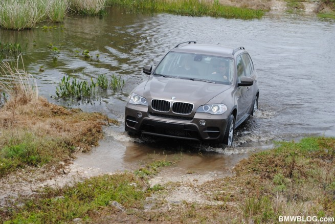 BMW-X5-E70-LCI-Media-Launch-Miami-Wasser-10