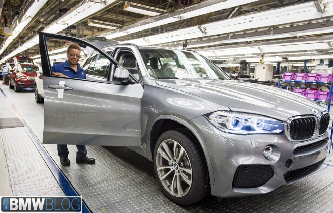 BMW-X5-F15-Produktion-Spartanburg-Start-2013