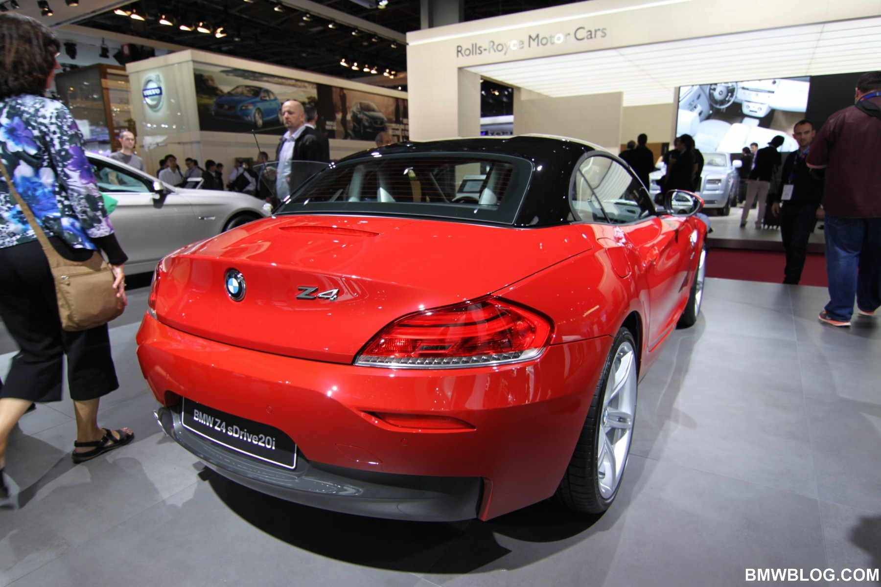 Paris 2012 Bmw Z4 E89 Mit Hardtop In Kontrastfarbe Und M Sportpaket