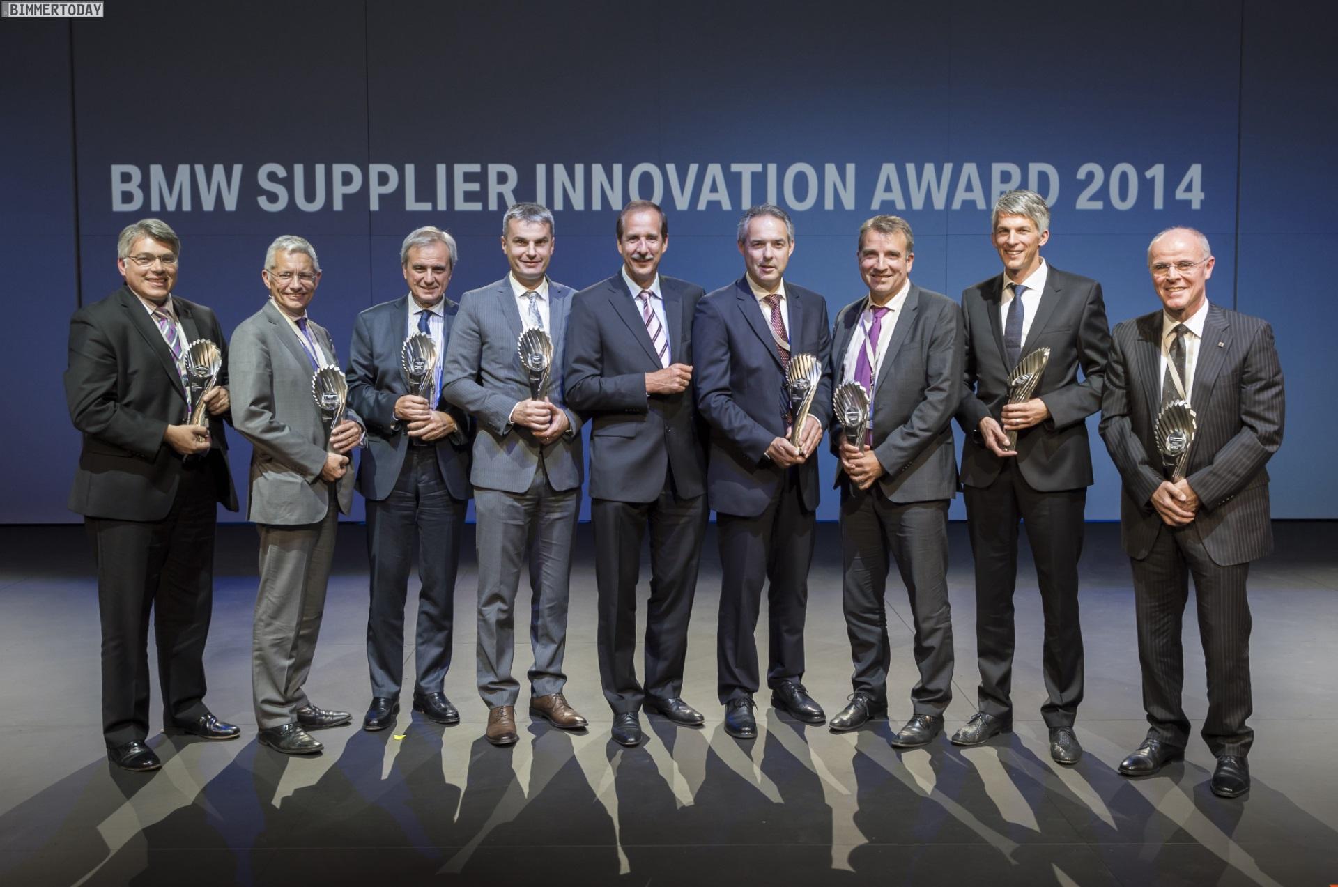 Bmw Zulieferer Geehrt Bmw Supplier Innovation Award 2014