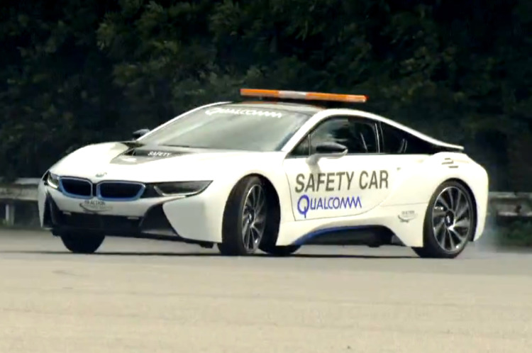 BMW-i8-Drift-Video-Safety-Car-Formula-E-Qualcomm
