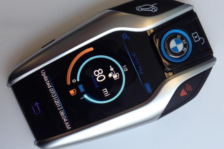 Bmw I8 Display Schlussel Neuer Info Key Erstmals Offiziell Gezeigt