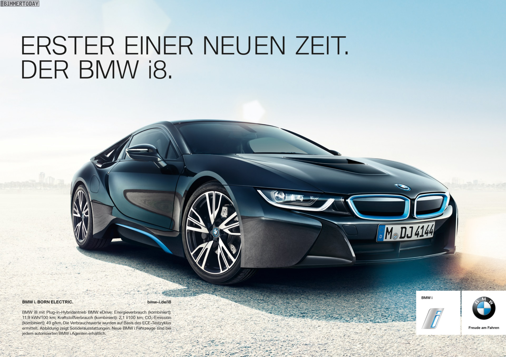 Bmw I8 300 000 Euro Werbe Kosten Pro Verkauftem Auto