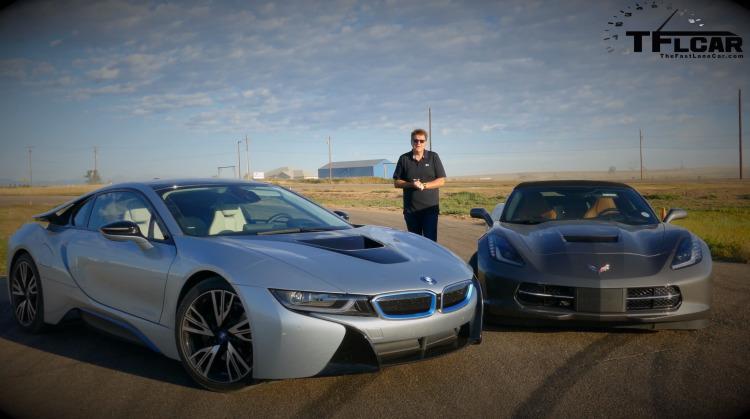 BMW-i8-vs-Corvette-C7-Stingray-Dragrace-Video-Beschleunigung-Duell