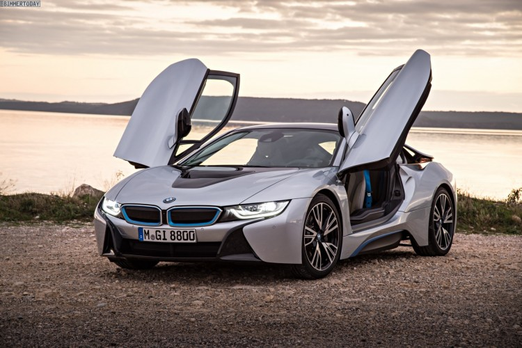Bmw I8s 2016 Supersportler Als Plug In Hybrid Mit Uber 500 Ps