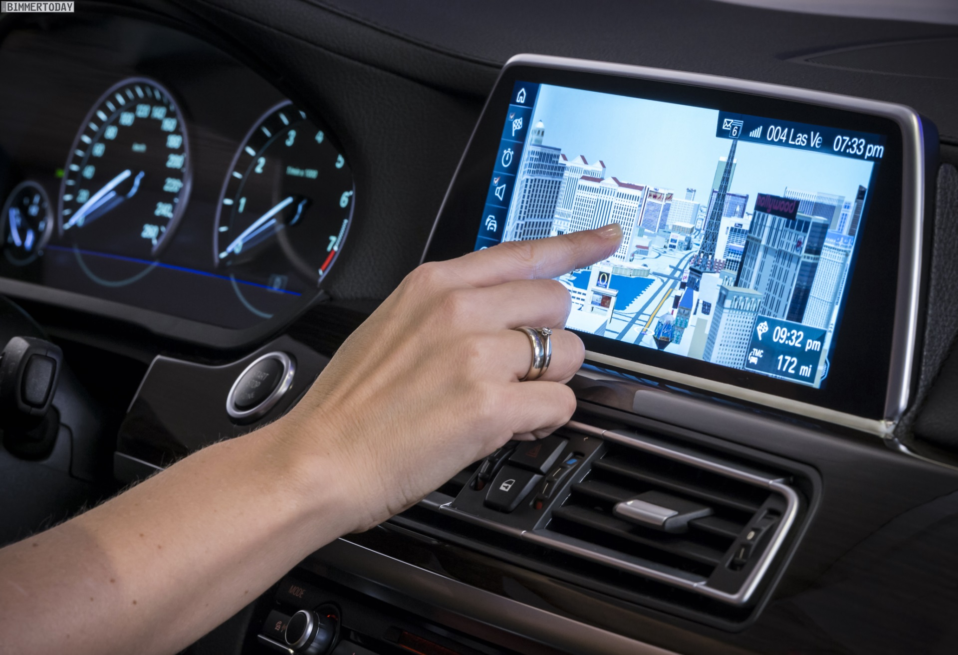 Ces 2015 Bmw Idrive Mit Touchscreen Amp Gestensteuerung