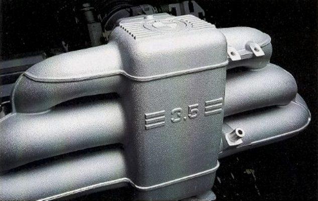 BMW_535i_E34_Motor