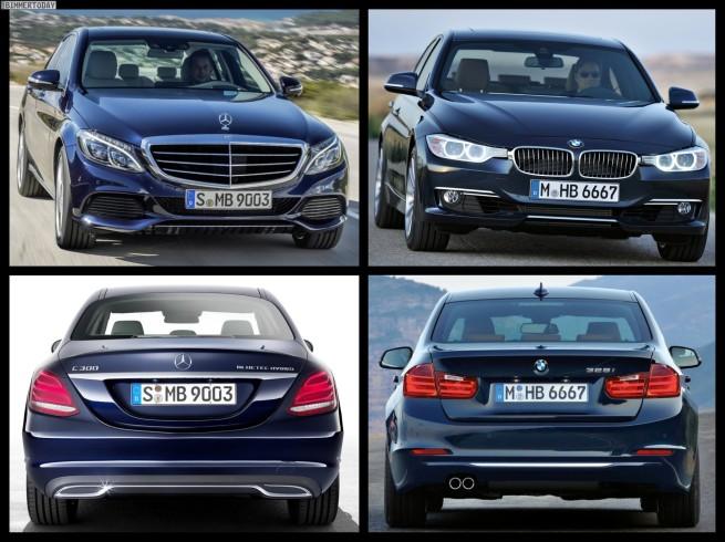Bild-Vergleich-BMW-3er-F30-Luxury-Line-Mercedes-C-Klasse-Exclusive-2014-05
