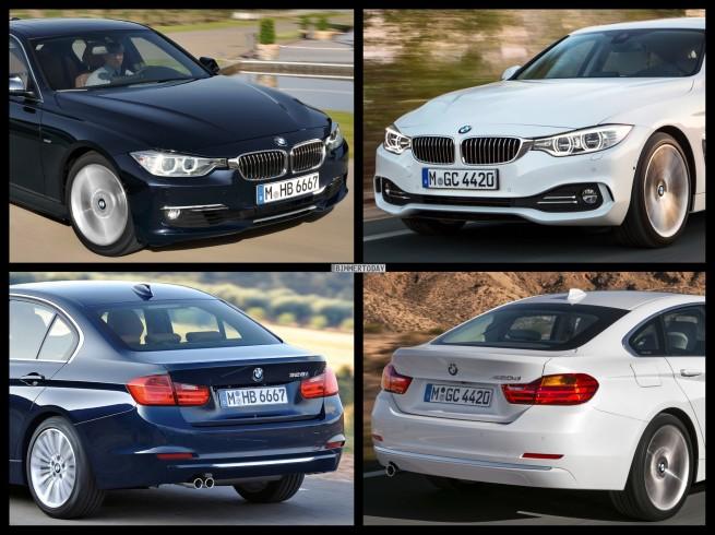 Bild-Vergleich-BMW-4er-Gran-Coupe-GC-F36-3er-F30-Limousine-Luxury-Line-04