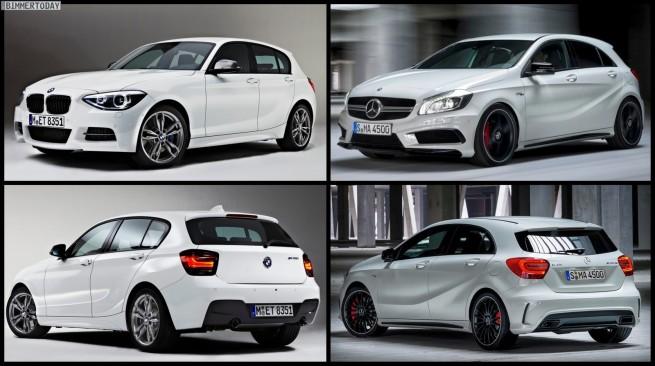 Bild-Vergleich-BMW-M135i-F20-Mercedes-A45-AMG