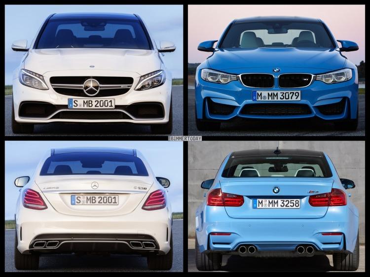 Bild-Vergleich-BMW-M3-F80-Mercedes-C63-S-AMG-Limousine-2014-04