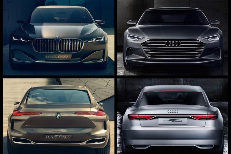 A9 Vorschau Audi Prologue Trifft Bmw Vision Future Luxury