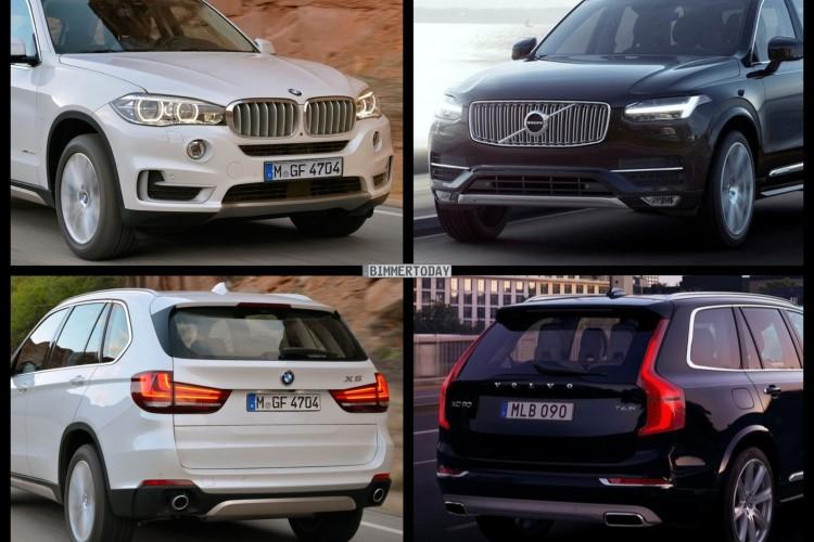 Suv Bild Vergleich Neuer Volvo Xc90 2014 Trifft Auf Bmw
