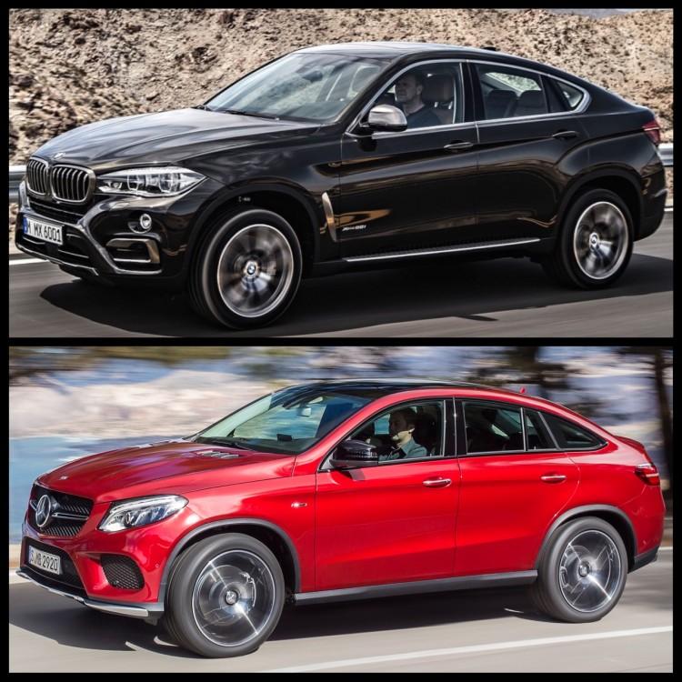 Bild-Vergleich-BMW-X6-F16-Mercedes-GLE-Coupe-SUV-2014-02