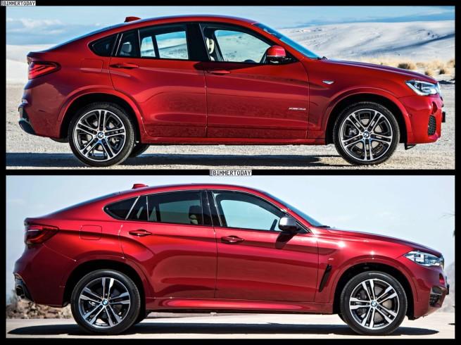 Bild-Vergleich-BMW-X6-F16-X4-F26-SUV-Coupe-xDrive-2014-03