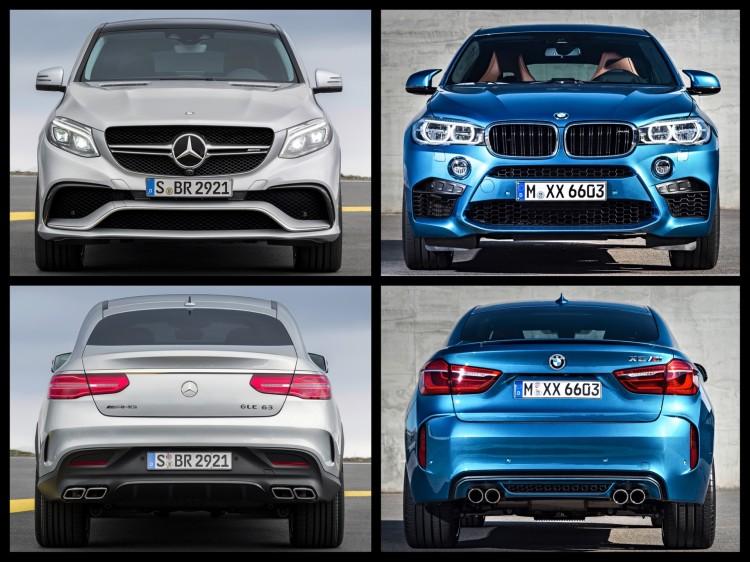 Bild-Vergleich-BMW-X6-M-F86-Mercedes-GLE-63-AMG-SUV-Coupe-2015-04