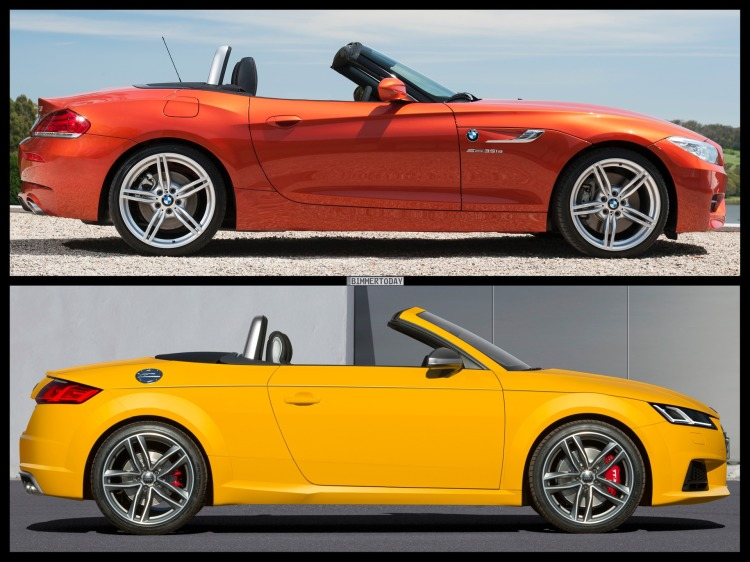 Bild-Vergleich-BMW-Z4-E89-LCI-Audi-TT-Roadster-2014-04
