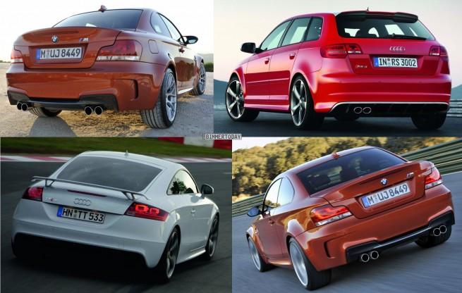 Bildvergleich-Audi-RS3-BMW-1er-M-Audi-TT-RS-Heck2