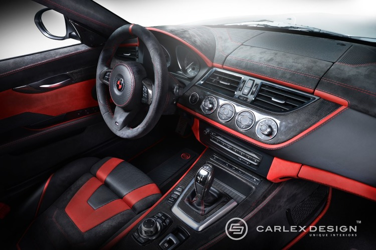 Carlex Design Bmw Z4 Red Carbonic Mit Tuning Innenraum