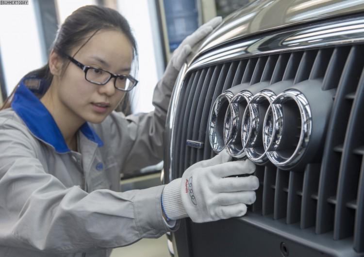 Audi: Erstmals mehr als 50.000 Autos in einem Monat in China ausgeliefert