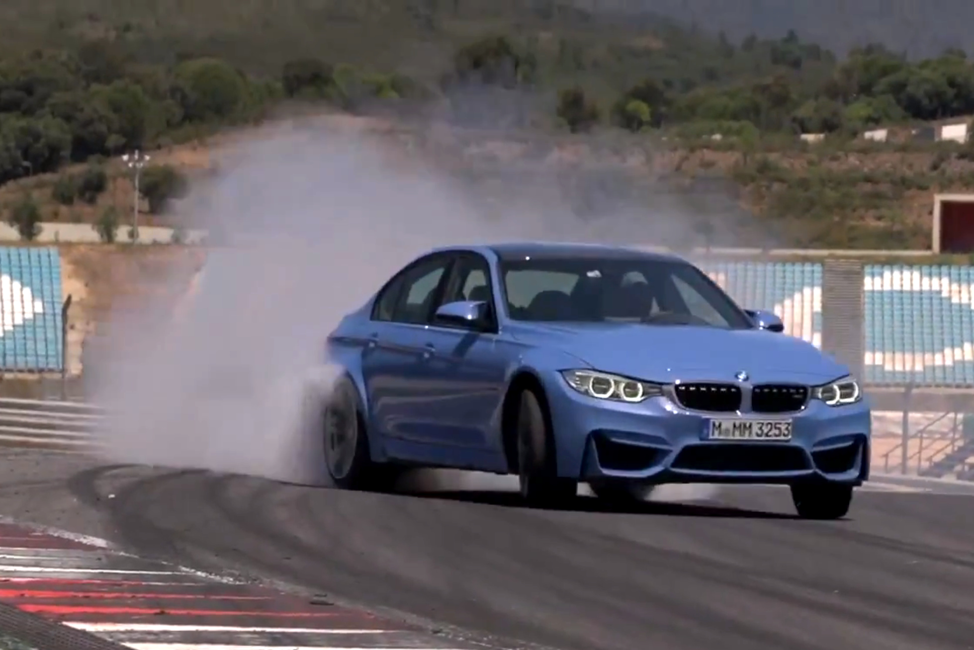 Video Bmw M3 F80 Im Fahr Und Drift Test Mit Chris Harris