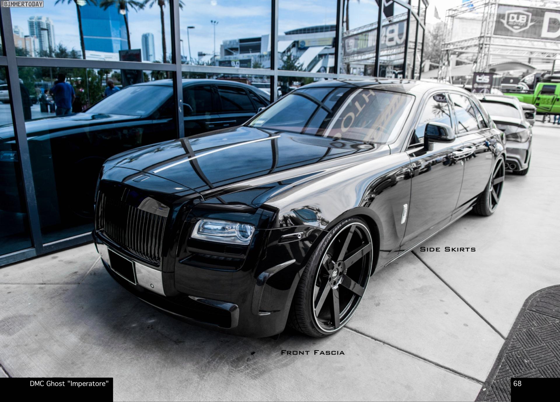 Dmc Luxury Rolls Royce Ghost Imperatore Tuning F 252 R Mehr