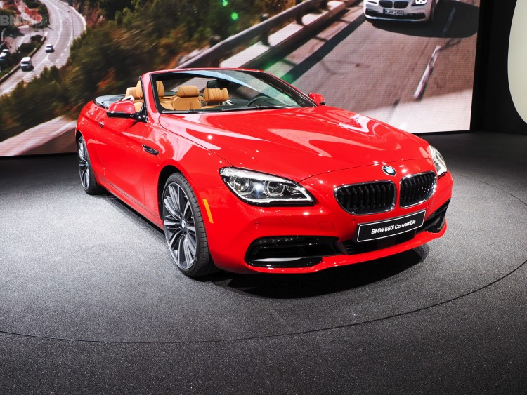 detroit 2015 bmw 6er cabrio facelift design pure experience. Black Bedroom Furniture Sets. Home Design Ideas
