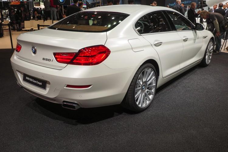 Detroit 2015 Bmw 6er Gran Coup 233 Facelift In Frozen White
