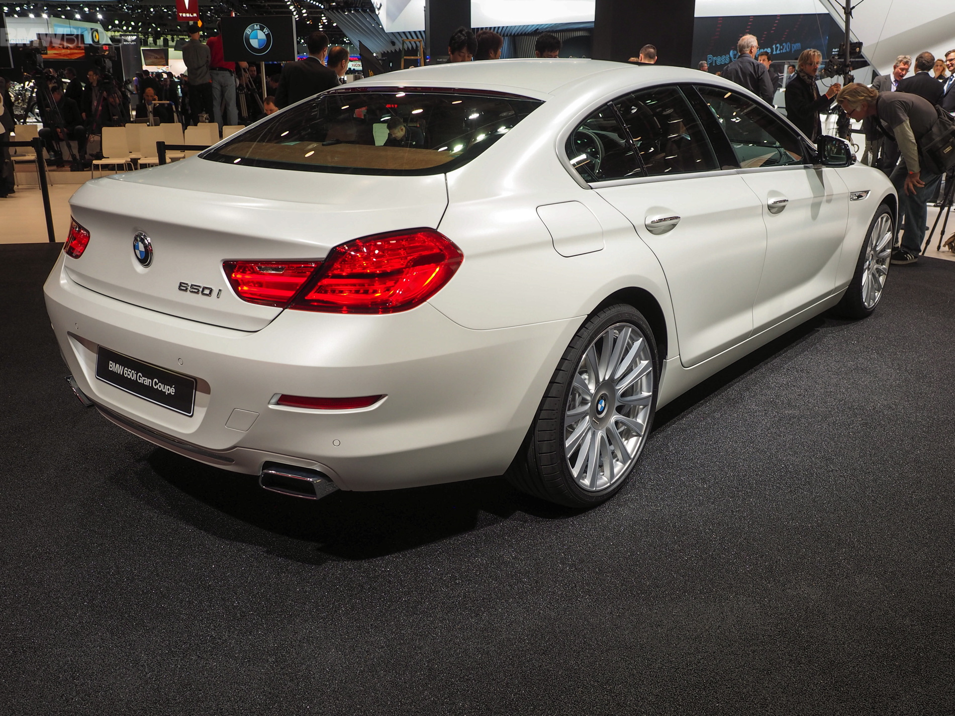Detroit 2015 Bmw 6er Gran Coup 233 Facelift In Frozen White