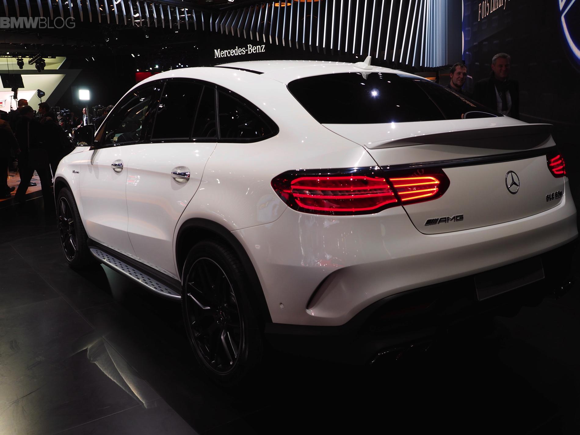 Detroit 2015 Mercedes Gle Coup 233 63 Amg S Mit 585 Ps