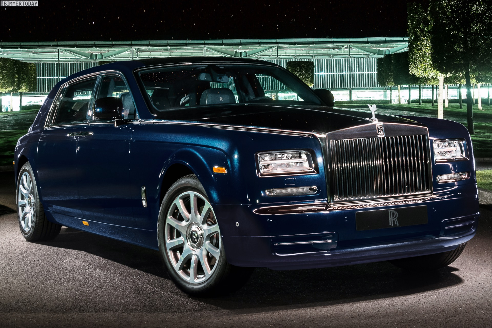 Rolls Royce Celestial Phantom Diamonds Are A Car S Best