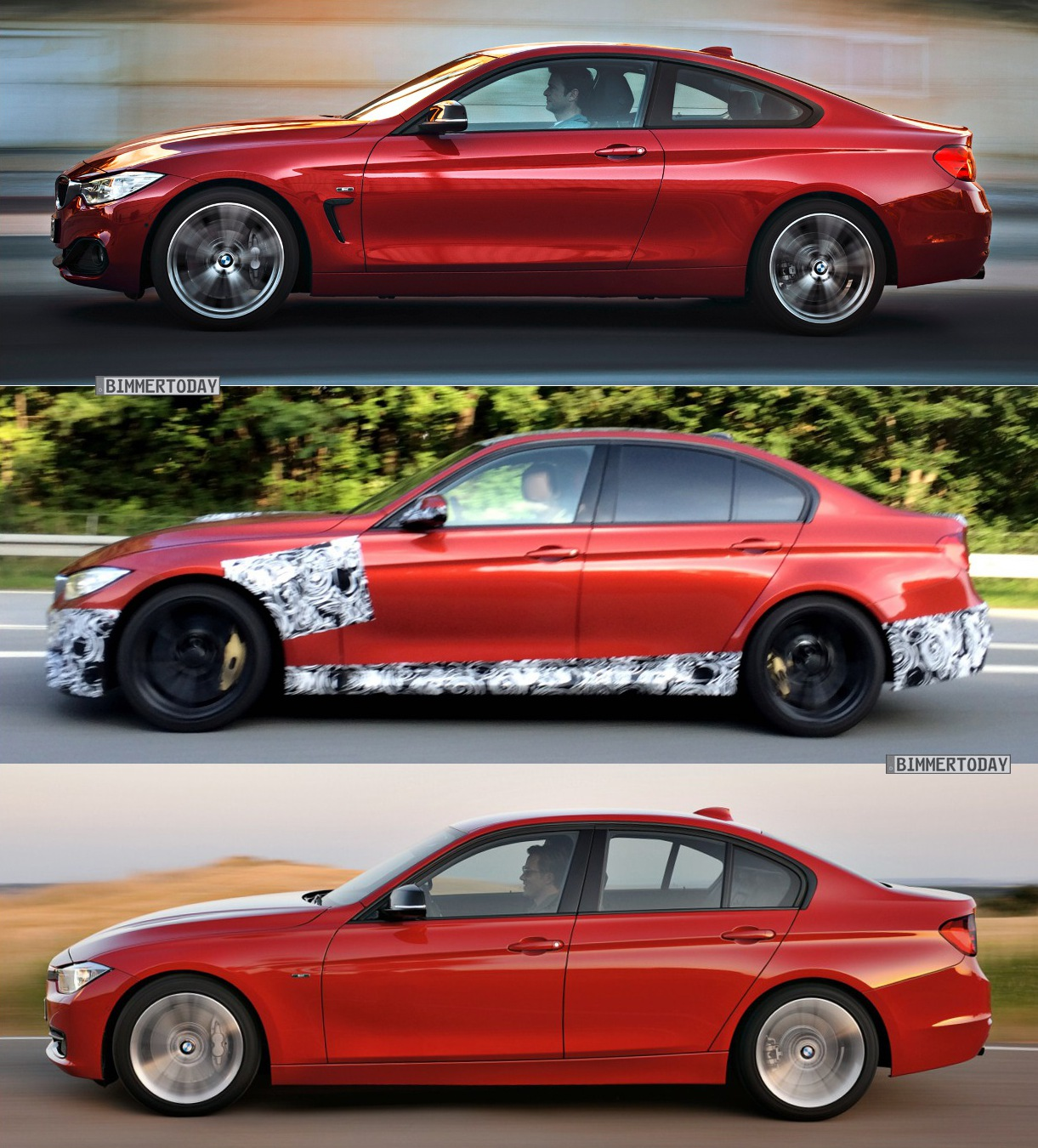 bmw m3 2014 f80 bekommt front des m4 f82 mit air breather. Black Bedroom Furniture Sets. Home Design Ideas