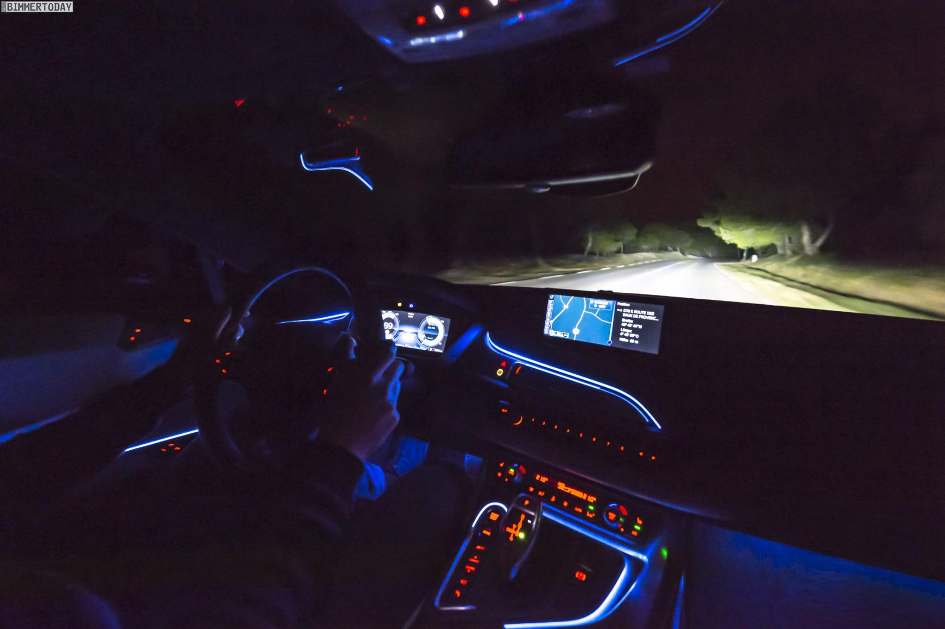 Fahrbericht Laserlicht Bmw I8 Laser Scheinwerfer Bei Nacht