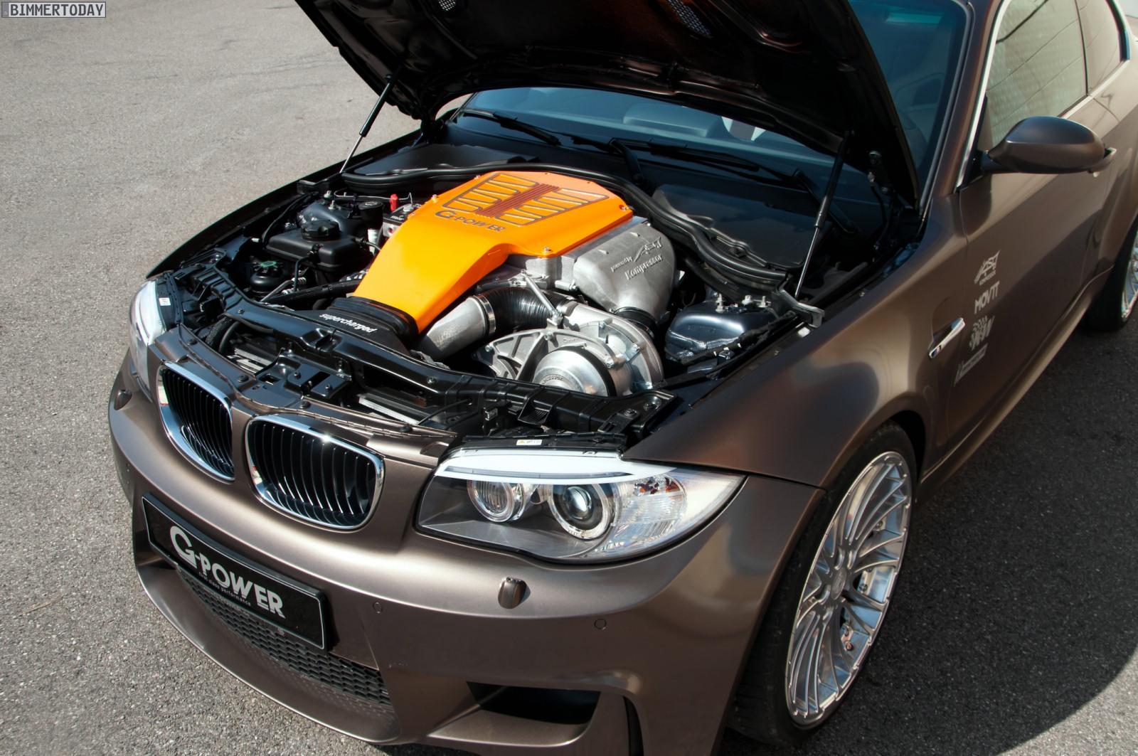 G Power Quetscht Kompressor V8 In Bmw 1er M Tuning Bringt
