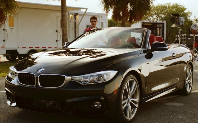 James-Blunt-Postcards-Video-BMW-4er-Cabrio-F33-Product-Placement