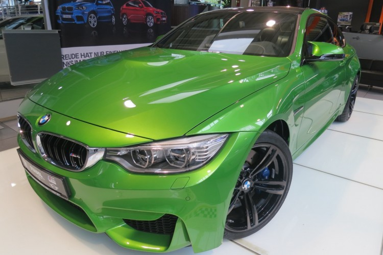 Bmw M4 In Java Gr 252 N F82 Mit Giftgr 252 Ner Individual Lackierung