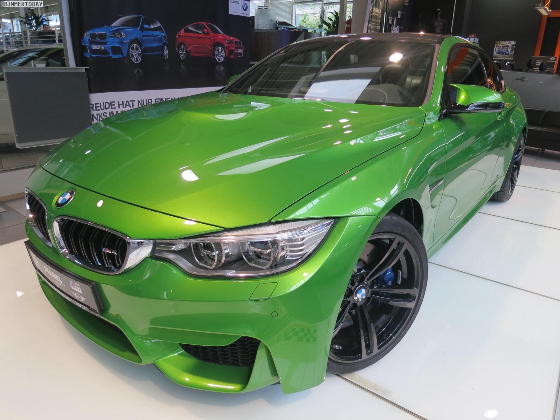 BMW M4 in Java Grün: F82 mit giftgrüner Individual-Lackierung